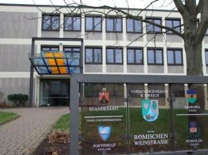 Verwaltungsgebäude der Schulträgerin in der Brückenstraße in Schweich