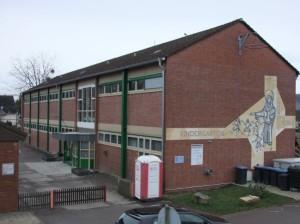Ehemalige Grundschule, seit 1974 Kindergarten in Issel