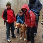Tierische Begleitung im Meulenwald
