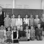 Herr Krempchen mit der Klasse 3c