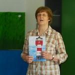 Resemie Kertels während der Lesung im 2. Schuljahr