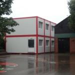 Neue Klassenräume neben der Sporthalle