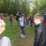 Die 2b erfasst spielerisch Zusammenhänge im Wald