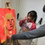 In der Künstlerwerkstatt