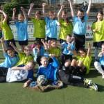 Siegreiche Fußballerinnen