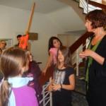 Kunsthistorikerin Christina Biundo spricht über kulturelle Bildung