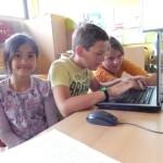Reporter-Team An, Jan und Leonie