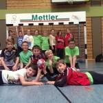 Siegreiche Handballer/innen aus Schweich