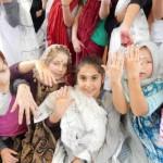 Viertklässlerinnen entdecken Indien