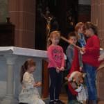 St. Martin teilt seinen Mantel mit dem Bettler