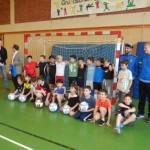 Beim Pressetermin mit den Sponsoren und Vertretern der Eintracht Trier
