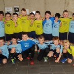 Die stolzen Fußball-Vertreter der Grundschule am Bodenländchen