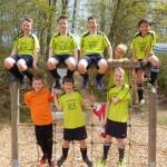 Die erste Mannschaft der Grundschule am Bodenländchen