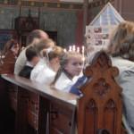 Ein Stein in Gottes Haus: unsere Kommunionkinder