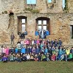 Abenteuerlich: Viertklässler leben drei Tage auf der Burg